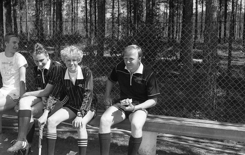 Domarkurs i ÖDIK sommaren 1986