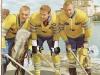 62 Landslaget Guld-trio 1962
